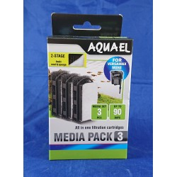 Aquael FZN Mini Media 3-pack